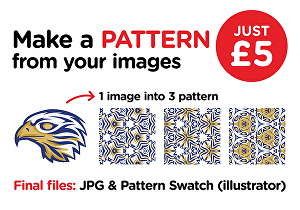 I will make a pattern from your images