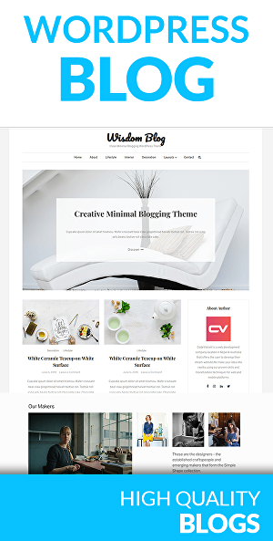 I will create Wordpress Blog