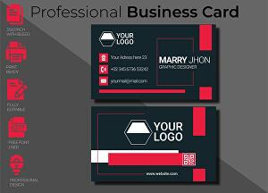 I will create a modern and minimal business card and letterhead