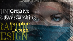 I will provide creative graphic designing services