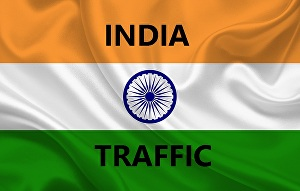 I will drive  real organic targeted  traffic from  INDIA   to your website Blog store shop