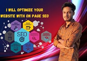I will Optimize your website with On Page SEO