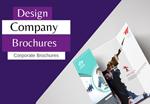 I will write and design brand identity brochures and all types of brochures