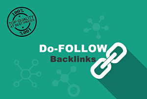 I will do 30 do follow niche relevant bog comments backlinks