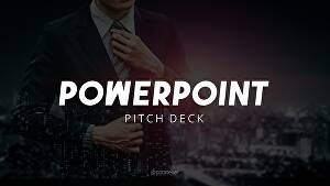 I will design pitch deck and powerpoint presentation