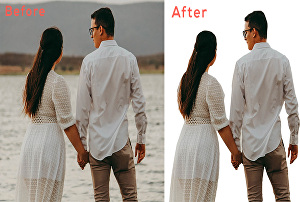 I will remove background from your photo, image