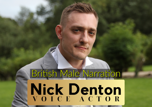 record a professional British voice over for you