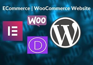 I will create wordpress ecommerce website using woocommerce