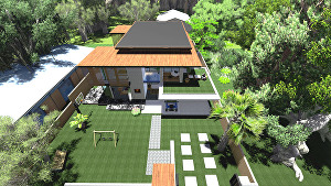 I will do architectural 3D design and Rendering