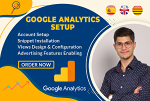 I will setup Google Analytics for you