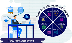 I will create inventory management system with  accounting