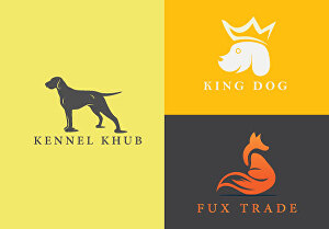 I will design minimalist dog, pet and animal logo for you