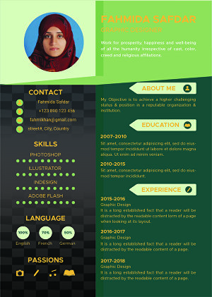 I will design CV and cover letter
