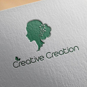 I will design a 3D watercolor flat luxurious logo for you