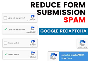 I will setup and fix Google Recaptcha to reduce web form spam submission