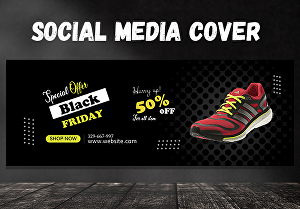 I will create awesome Facebook cover or any social media banner