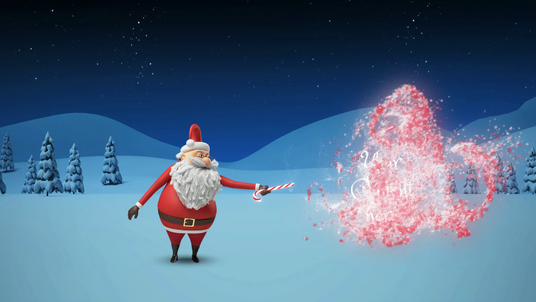 make this amazing Christmas animation video