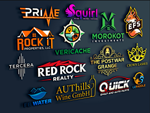 I will design an amazing and creative logo for your brand