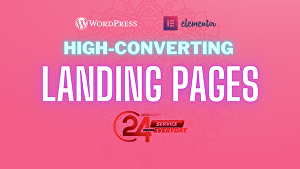 I will make high converting professional landing page