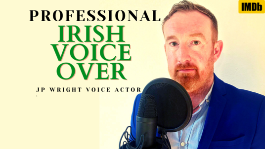 voice over 75 words in most Irish accents