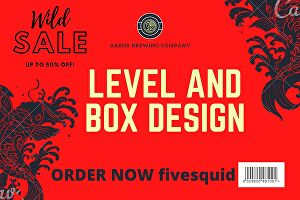 I will do amazing label and box design for your products