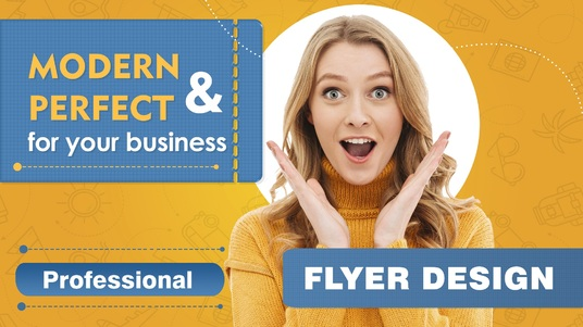 design a high quality print ready professional flyer or poster