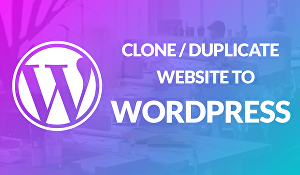 I will clone, copy or duplicate any website into Wordpress