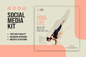 I will design any social media posts, banner, cover, and header
