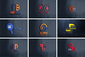 I will design business logo that will be modern and trendy