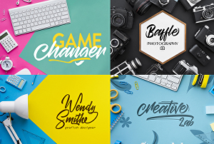 I will design an original calligraphy, lettering, signature logo
