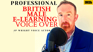 I will provide up to 75 words for  British E-Learning  and Narration voice over