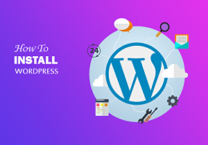 I will install WordPress and setup WordPress