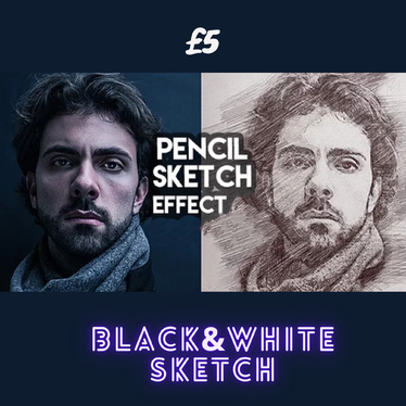 Do a Pencil Sketch Portrait from Your Photo