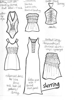 I will draw fashion technical illustrations with details
