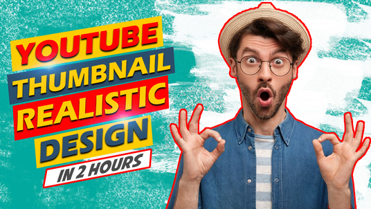 Design YouTube Thumbnail in 24 hours