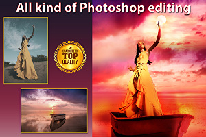 I will do any professional photoshop edit