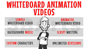 I will create amazing whiteboard animation videos
