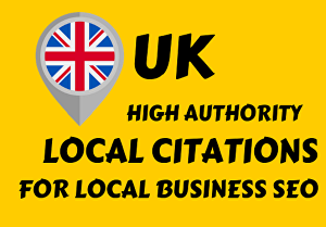 I will do 20 UK local citation to improve your local business
