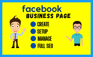 I will create facebook business page, setup, manage and optimize