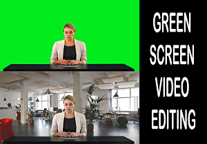 I will remove the green screen and chroma key on any video