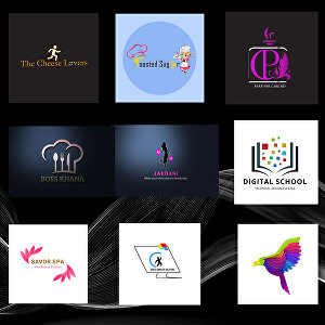 I will create clean and minimal logo design