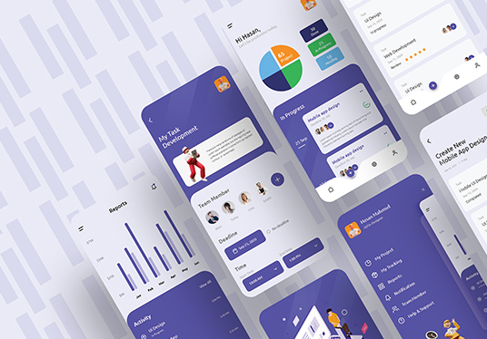 do mobile app design in iOS or Android