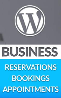 setup reservation, booking & appointment system on your website