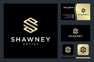 I will design clever monogram or initial logo for personal branding