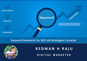 I will I will do excellent SEO keyword research and competitor analysis