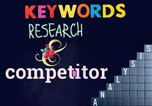 I will do outstanding SEO keyword research & competitor analysis
