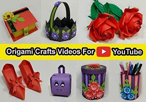 I will create professional origami Paper Craft videos for your YouTube channel