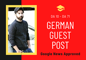 I will publish a German Guest Post on HQ Magazine