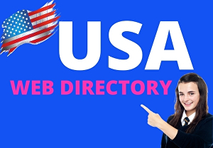 I will do 100 USA high-quality web directory submission manually
