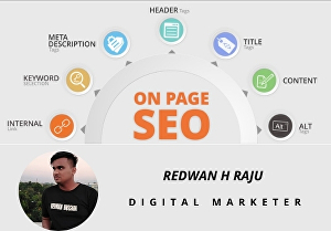I will Do Best on page SEO Optimization